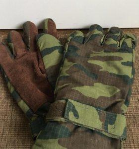 Рабочие, тёплые перчатки. Новые.
