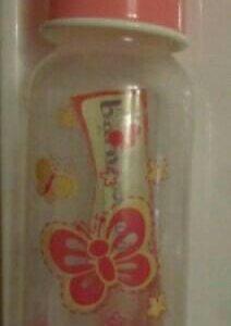 Бутылочка новая, б/у силиконовая ложка, контейнер
