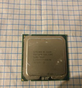 Intel pentium 2,2 Ггц dual-core SLA8X E2200