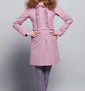 Пальто-платье с плиссе Екатерина Смолина. 46 р-р