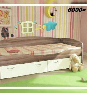 Детская кровать Бриз 2