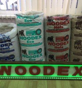 Природный утеплитель WOODEX