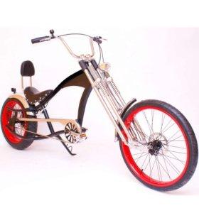 Велочоппер Alfabike Challenger Red
