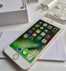 Новый iPhone 6/16Gb gold(золото)