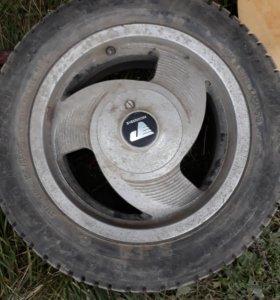 Зимние колёса на литье