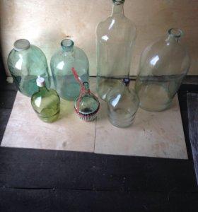 Бутыли для приготовления вина