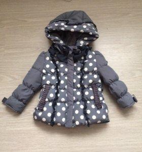 Куртка тёплая до -10