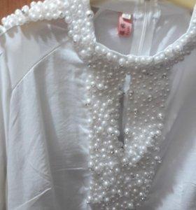 Рубашка белая турця
