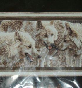 """Набор вышивка крестом """"Белые волки"""""""