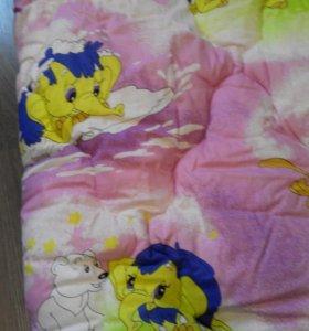 Детское теплое новое одеяло