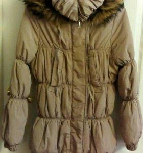 Куртка зимняя для беременных размер 46-48.