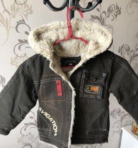 Куртка для мальчика на тёплой подстежке