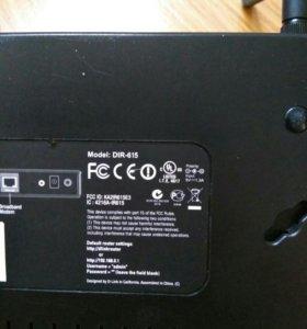 Wi Fi роутер D Link DIR-615