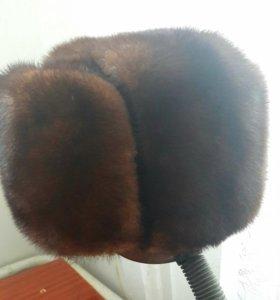 шапка норковая новая