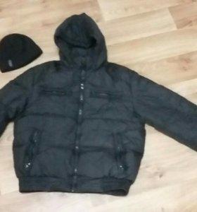 Зимняя куртка 44-46р
