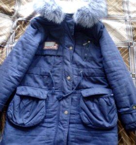 Куртка-парка зимняя р-р 46-48