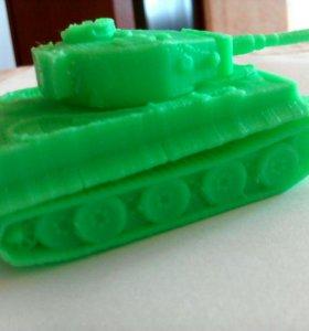 "Модель танка ""Тигр"""