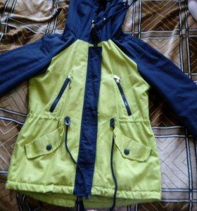 Куртка-парка демисезонная,р-р 42-44