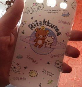 Чехол Rilakkuma на Samsung S3