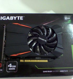 Gigabyte GeForce GTX 1050Ti 4Gb