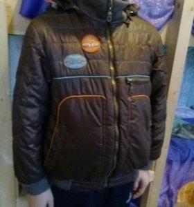 Модная демисезонная куртка 116-122 6-7 лет мальчик