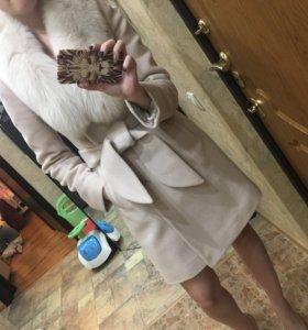 ЗИМНЕЕ шерстяное пальто‼️р-р 42