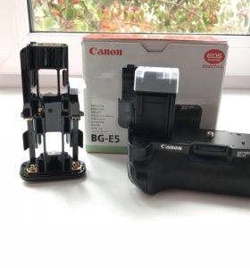 Новый батарейный блок Canon BG-E5.
