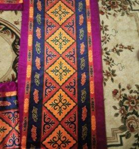 Чехлы на одеяла (курпе) с казахским орнаментом.