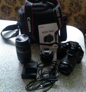 Продам фотоаппарат Canon EOS 1100D