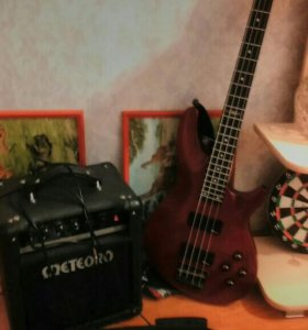Бас гитара+усилитель
