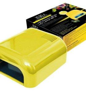 JessNail, KUKLA УФ лампа 36 Вт (желтая, глянцевая)