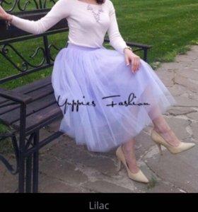 Фатиновая юбка для праздников