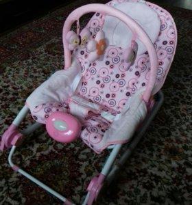 Шезлонг кресло - качалка