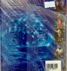380 качественных видеоклипов DVD 2 шт.