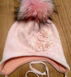 Новая шапка для девочек