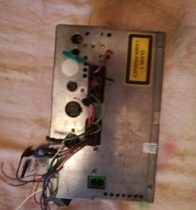 Двудиновая маг от вольво диски тюнер кассета б, у