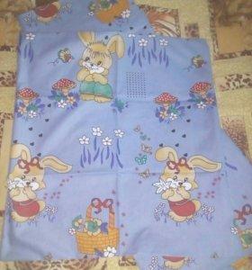 Постельное бельё для кроватки