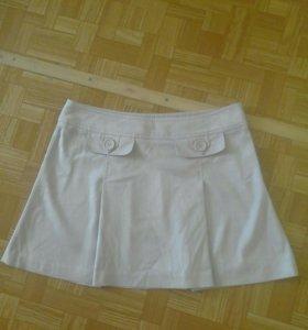 Новая юбка из замши