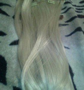 Волосы на трессах