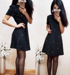 Платье модного кроя