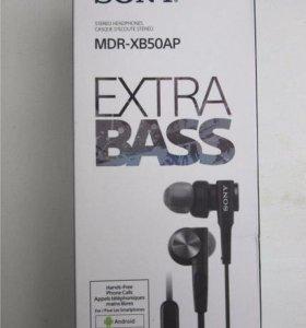Наушники extra bass Sony MDR-XB50AP