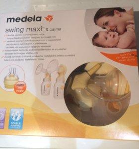 Двойной электронный молокоотсос Swing Maxi