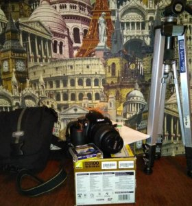 Зеркальная камера Nikon-D3100