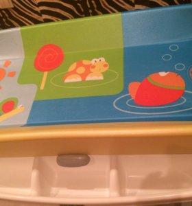 Пеленальный столик-ванна Cam