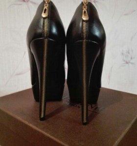 Туфли Чёрные Женские