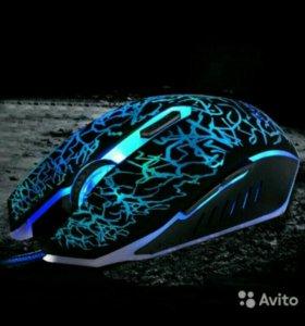 Мышь игровая с подсветкой
