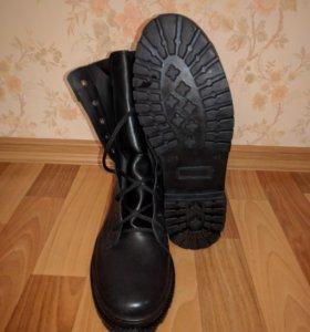 """Берцы зимние """"Трек"""" кожаные новые"""