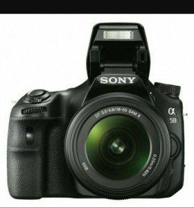 Зеркальный фотоаппарат Sony Alpha SLT A-58