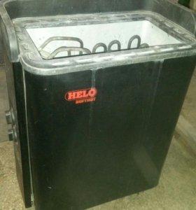 Электрокаминка Helo для сауны.