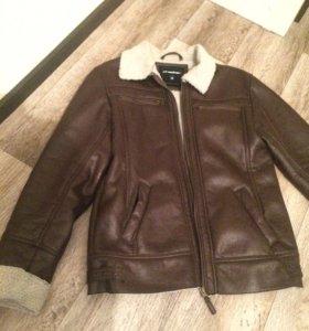 Куртка Мужская весенняя коричневая 46-48 размера